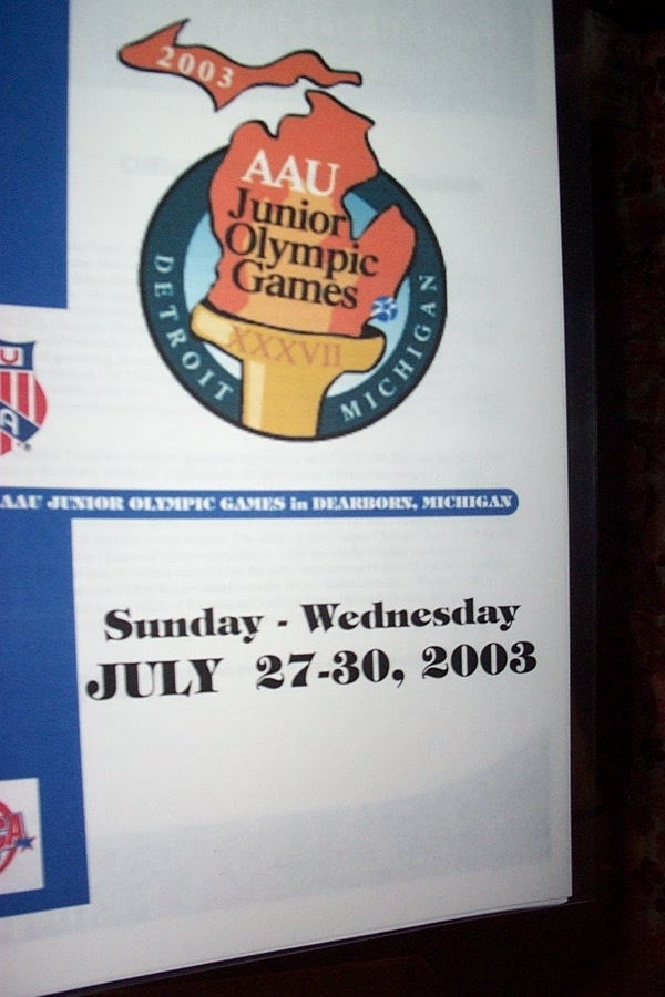 Jr  Olympics Initial Announcement